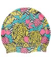 Amanzi Pineapple Punch Silicone Swim Cap