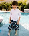 i play. by Green Sprouts Boys' Octopus Swim Trunks w/Built-in Swim Diaper (Baby, Toddler)