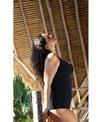 Capriosca Mastectomy Honey Comb Underwire One Piece Swimsuit (G Cup)