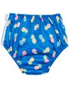 i play. by Green Sprouts Girls' Pineapple Stripe Reusable Swim Diaper