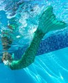 Fin Fun Celtic Green Mermaid Tail & Monofin (Youth/Adult)