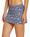 Dolfin Women's Aquashape Feathers Sea A-Line Swim Skirt