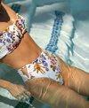 Tori Praver Hollywood Floral Payton High Leg Bikini Bottom