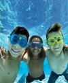 Aqua Sphere Seal Kid 2 Clear Lens Swim Mask