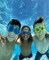 Aqua Sphere Kids' Seal 2 Clear Lens Swim Mask