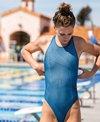 FINIS Women's Bladeback Maze One Piece Swimsuit