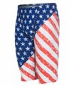 TYR Men's Star Spangled Allover Jammer Swimsuit