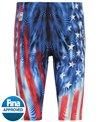 TYR Men's Venzo Genesis USA High Waist Jammer Tech Suit Swimsuit