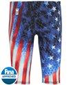 TYR Men's Avictor Supernova USA  Jammer Tech Suit Swimsuit