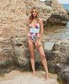 Skye Rose Garden Faith V Neck One Piece Swimsuit