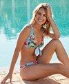 Skye Rose Garden Sophia Front Tie Bikini Top