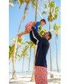 Snapper Rock Men's Sunset Moorings Palm Boardshort