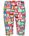 Sporti World Flags Jammer Swimsuit Youth (22-28)