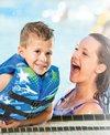 Aqua Leisure Kids' USCGA 3 Buckle Personal Flotation Device (30-50 lbs.)