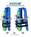 Aqua Leisure Kids' USCGA 3 Buckle Personal Flotation Device (50-90 lbs.)
