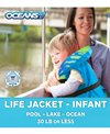 Aqua Leisure Infant Life Jacket USGA approved (30 Lbs Or Less)