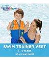 Aqua Leisure Kids' Printed Swim Vest With Safety Strap