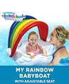 Aqua Leisure My Rainbow Babyboat® With Adjustable Seat & Sunshade