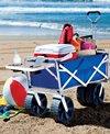 Mac Sports All Terrain Beach Wagon With Side Table