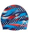 TYR USA Ribbon Silicone Swim Cap
