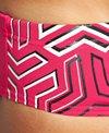 Arena Men's Pink Kikko Brief Swimsuit