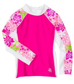 girls rash guards