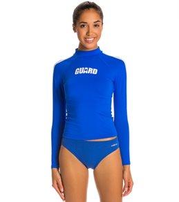 3de5e0c0d1a34f Two Piece Guard Suits womens Lifeguard Rash Guards