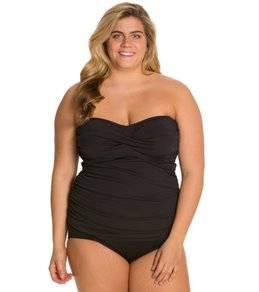 Plus Size D-Cup Up Swimwear