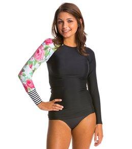 womens Rash Guards Swim Shirts