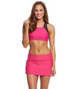 Sporti Active High Neck Crop Bikini Top