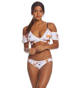 Bikini Lab True Watercolors Wrap Bikini Top