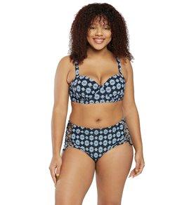 aba4b37e148 Raisins Plus Size Indo Lush Underwire Bra Bikini Top