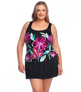 Women's Plus Size Swim Dresses at SwimOutlet com