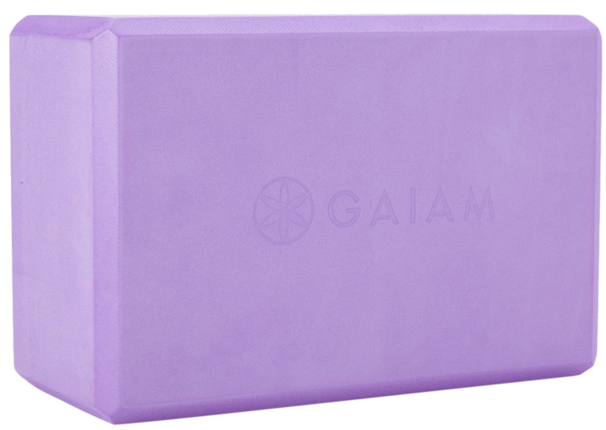 pruple foam yoga block