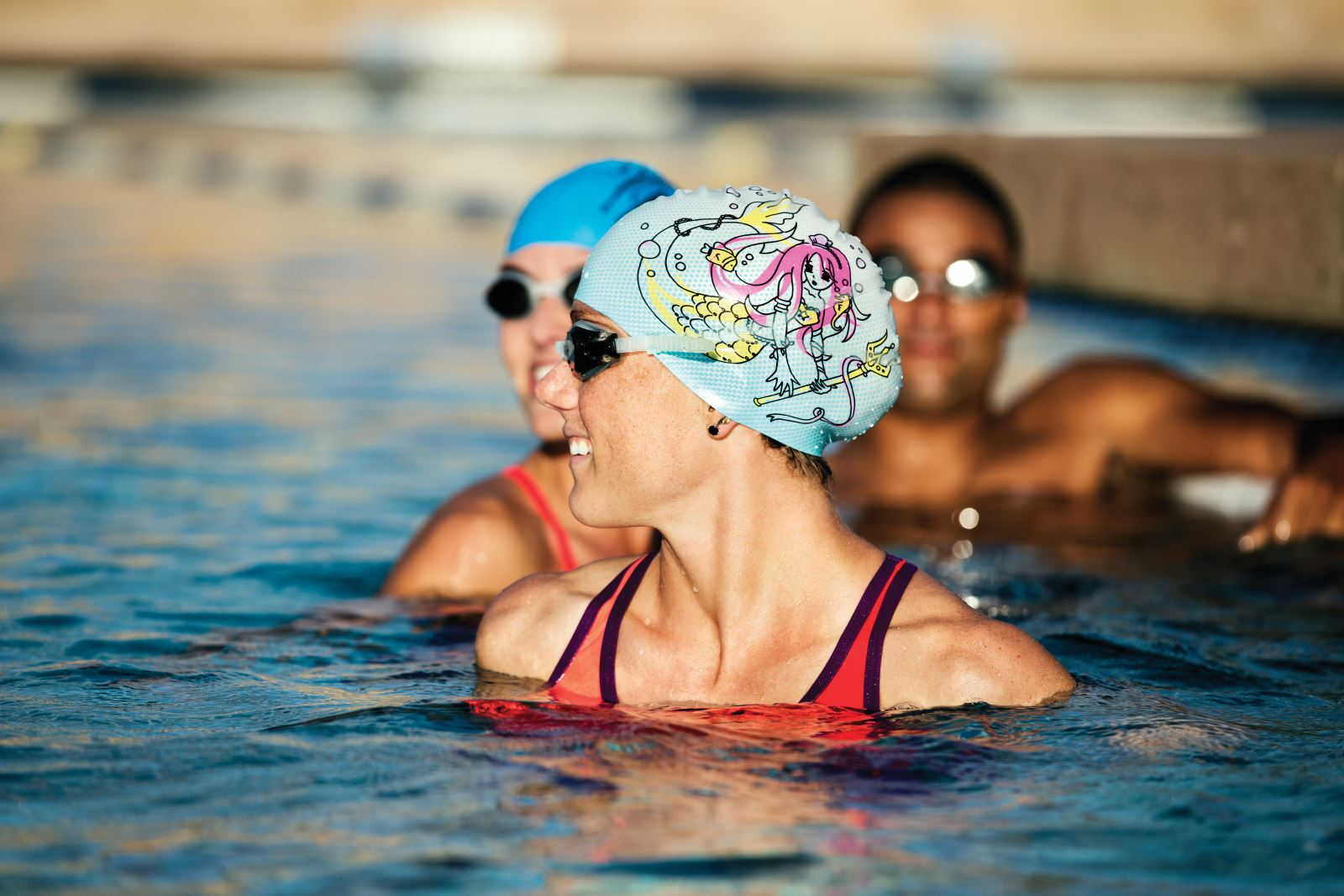 How to Care for a Swim Cap