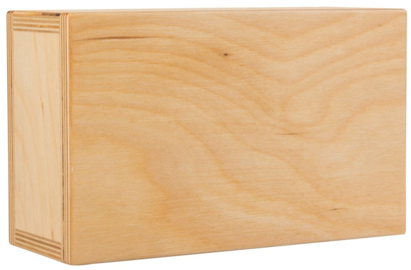 wood yoga block
