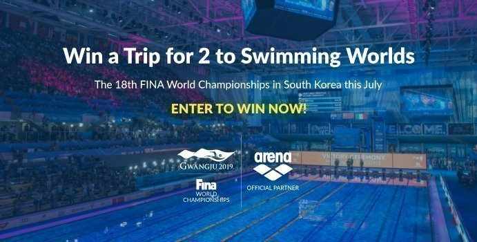 b330f94ce0 ... partnered up with arena to give swim fans in the U.S. the chance to win  the ultimate dream trip this July with round-trip travel and tickets for two  to ...