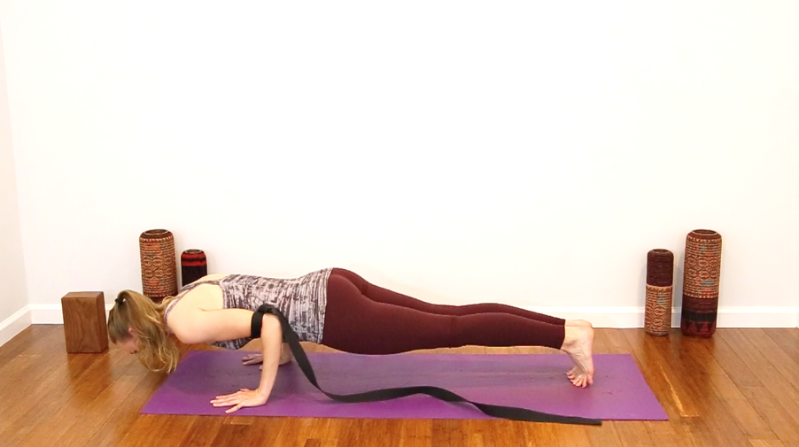 yoga strap how to use