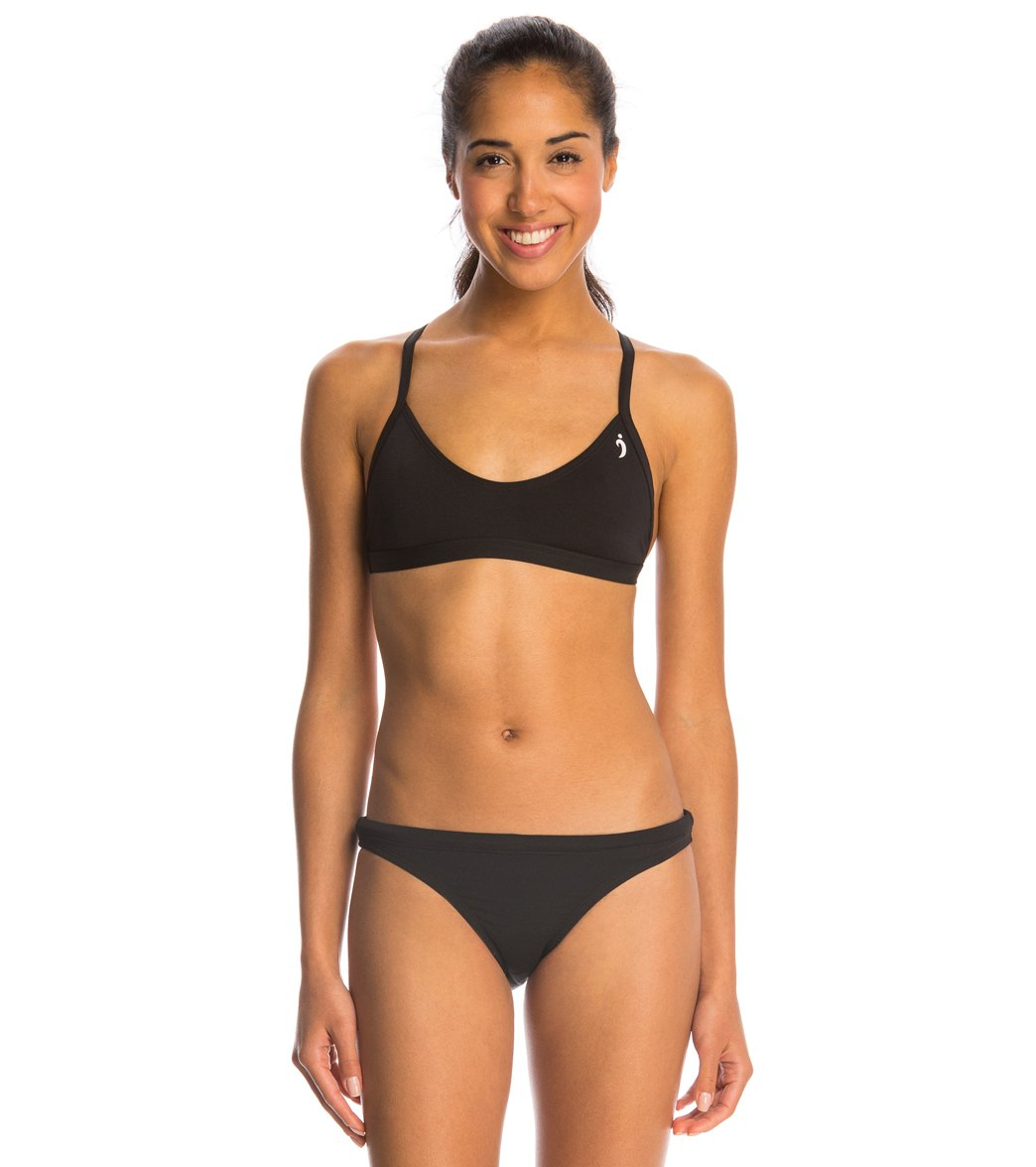 Illusions Black Two Piece Swimsuit Set At Swimoutlet Com Free Shipping