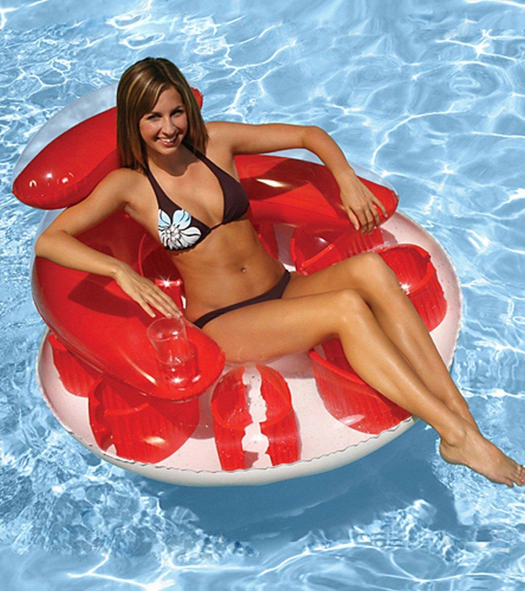 splash lounger super hammock poolmaster center water g mattresses pack green