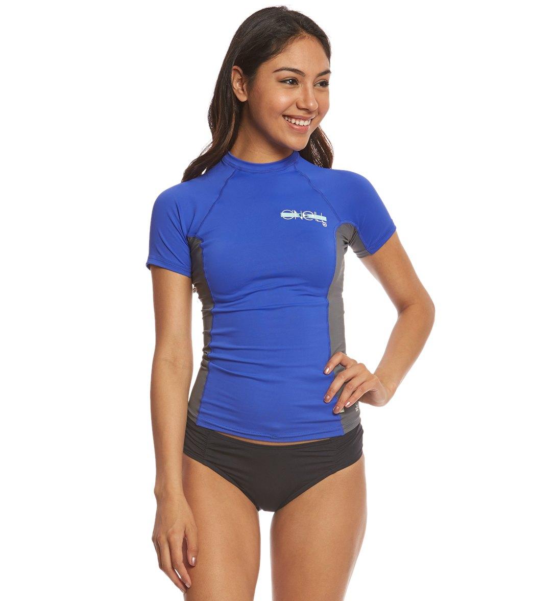 Womens 6oz Anti-UV Long Sleeve Rash Guard