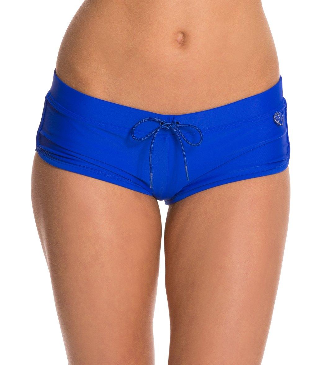 ab97fb400f Body Glove Swimwear Smoothies Sidekick Sporty Boy Short Bikini Bottom at  SwimOutlet.com - Free Shipping