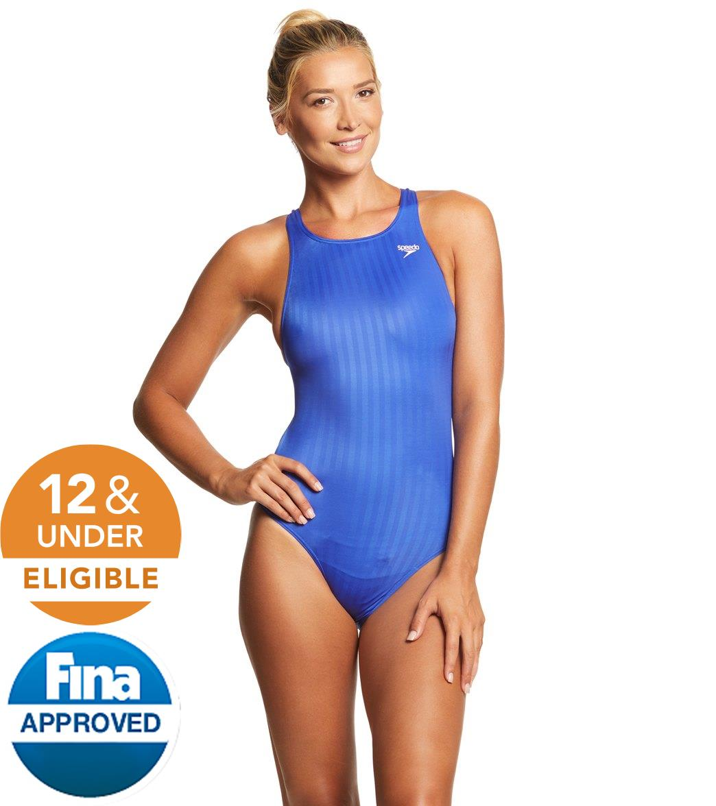 6126da1b2 Speedo Aquablade Female Recordbreaker Tech Suit Swimsuit at SwimOutlet.com  - Free Shipping