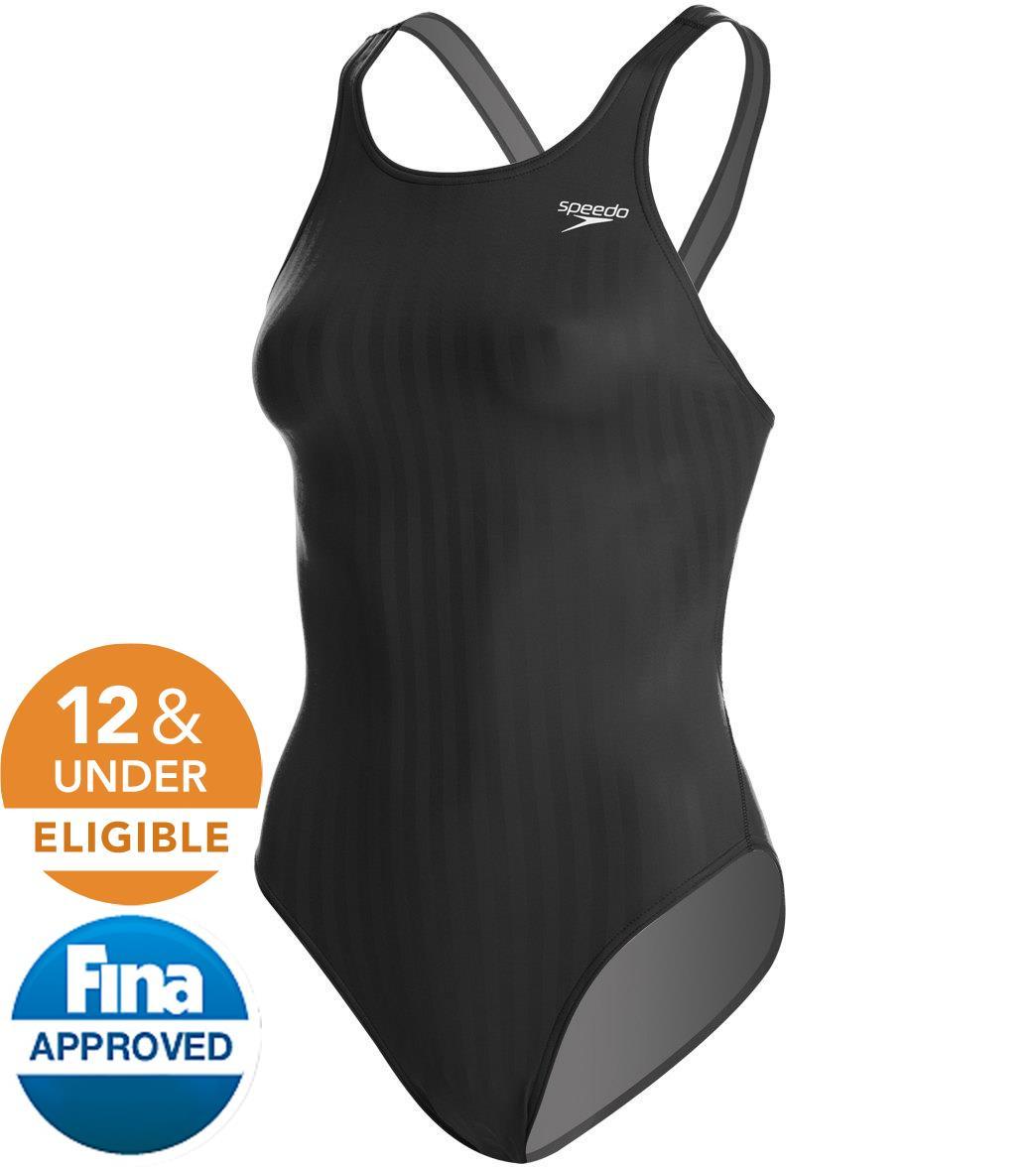 Speedo Women's Aquablade Recordbreaker Tech Suit Swimsuit