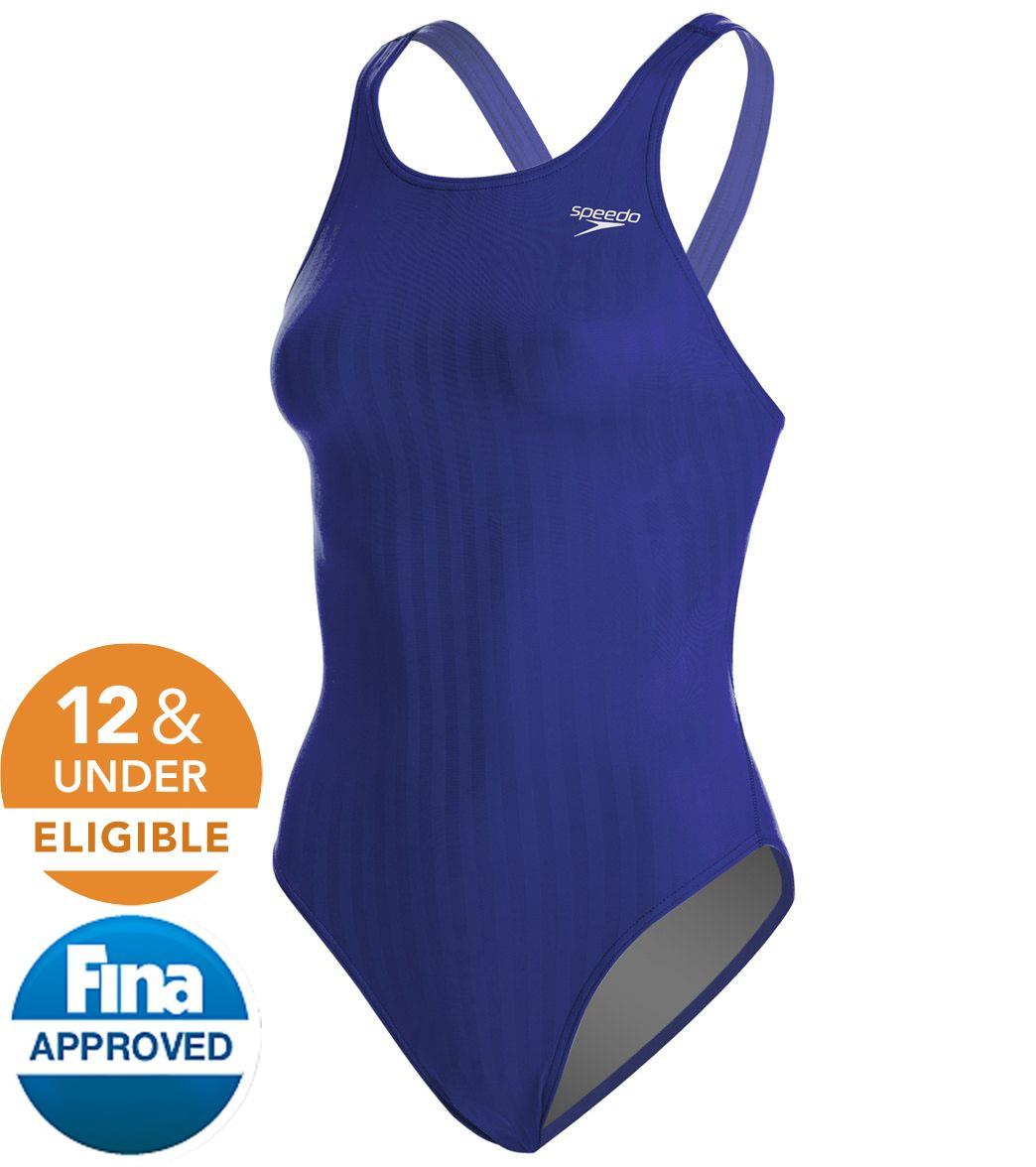 afa494b8acba Speedo Aquablade Female Recordbreaker Tech Suit Swimsuit at ...
