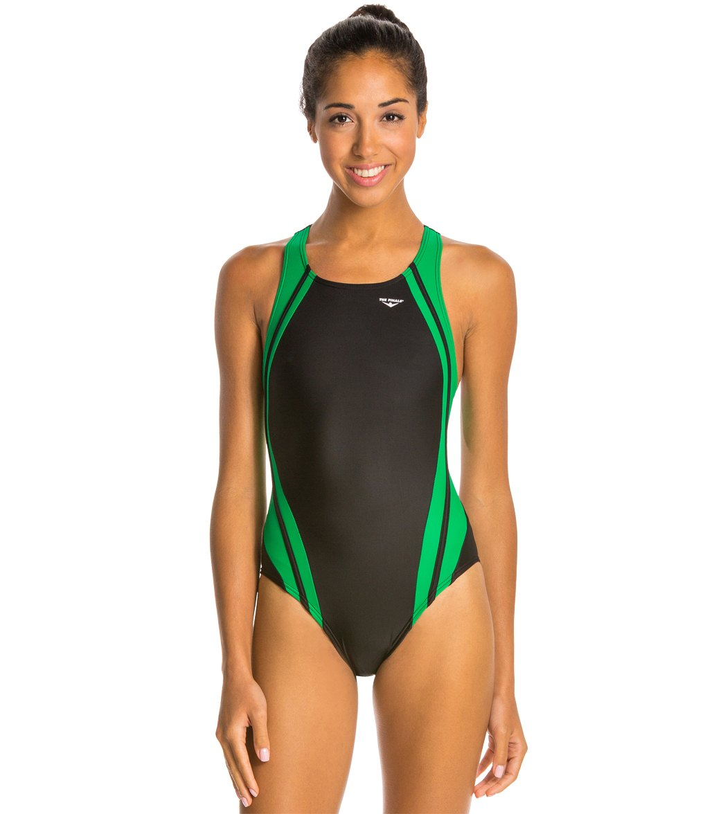 The Finals Reactor Splice Competition Back One Piece Swimsuit