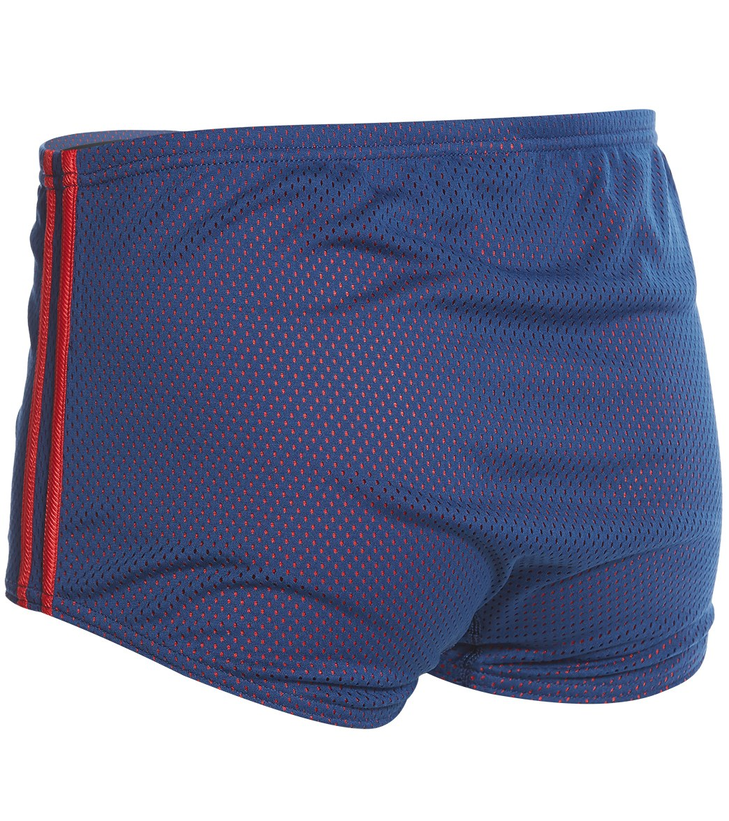 52de216c5f Speedo Solid Poly Mesh Square Leg at SwimOutlet.com