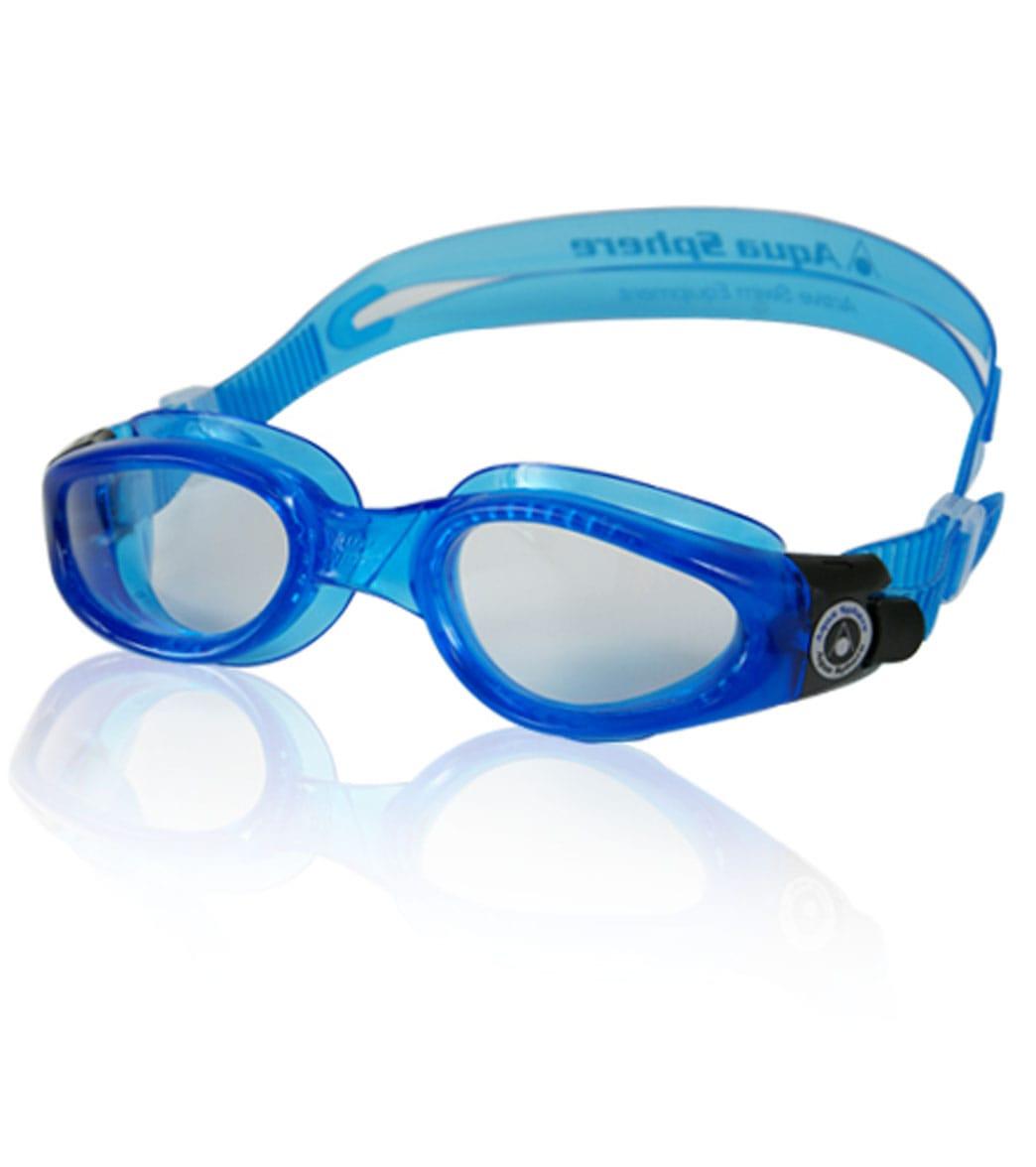 e875e723170cf Aqua Sphere Kaiman Goggle Clear Lens at SwimOutlet.com