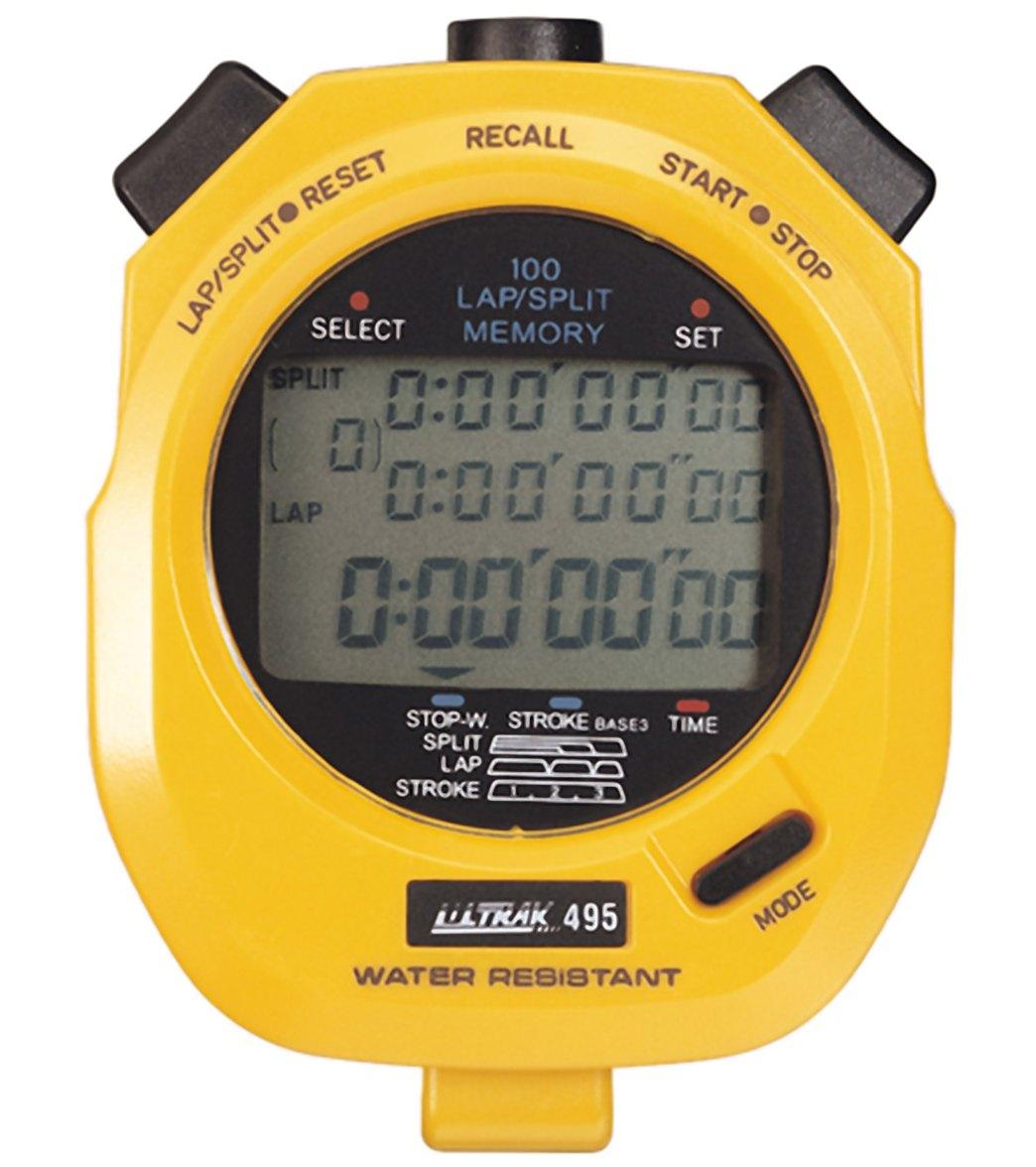 ultrak 495 100 lap memory stopwatch at swimoutlet com