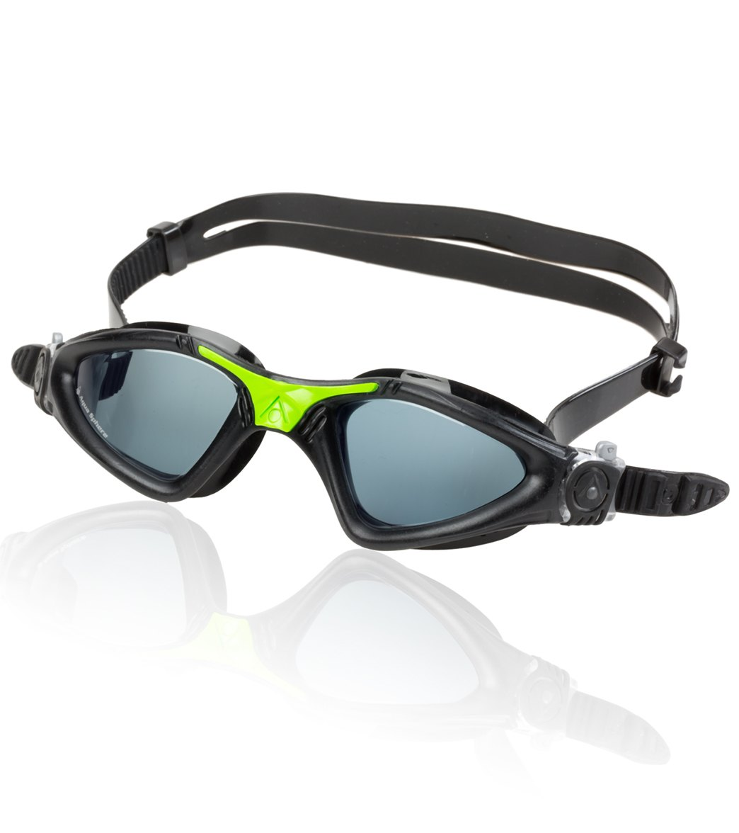 4676142c75 Aqua Sphere Kayenne Goggle Smoke Lens at SwimOutlet.com